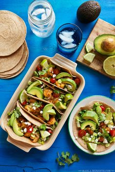 Sriracha Shrimp Tacos with Avocados From Peru | FamilyFreshCooking.com #spon — Family Fresh Cooking