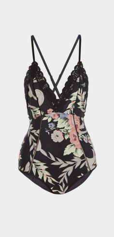 Keeper floral-print swimsuit