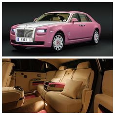 Cars & Life | Cars Fashion Lifestyle Blog: Pink Rolls Royce Ghost for FAB1 Million Project #car