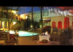 Cool off in the desert at the El Morocco Inn and Spa Desert Hot Springs, California