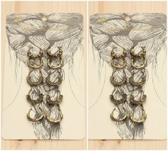 Jazz up your locks in boho style with this set of hair pins, the newest accessory! Set of 10 in Silver or Russian Gold