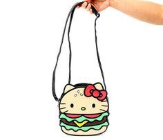Hello Kitty Crossbody Bag: Hamburger