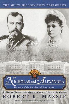 I've also got a thing for Russian history, especially the last Czar and his family...this is just one of many great books about them.