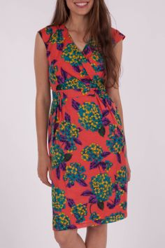 Maiocchi Fancy Blooms Dress - Womens Knee Length Dresses at Birdsnest