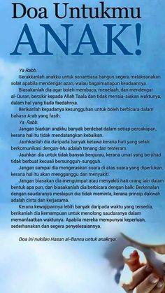 Doa Ibu Untuk Anaknya : untuk, anaknya, Ideas, Islam,, Muslim, Quotes