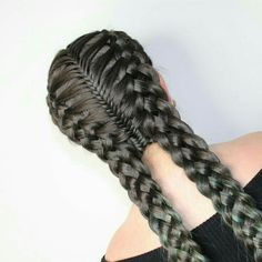 Long Box Braids: 67 Hairstyles To Upgrade Your Box Braids - Hairstyles Trends Box Braids Hairstyles, Cool Hairstyles, Hairstyle Ideas, Updo Hairstyle, Hairdos, Wedding Hairstyles, Softball Hairstyles, Cute Braided Hairstyles, Teenage Hairstyles