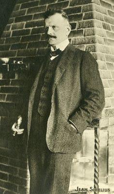 Jean Sibelius Ainolassa.