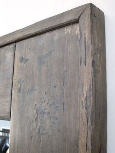 perfectly distressed - minwax jacobean + mixwax gray stains