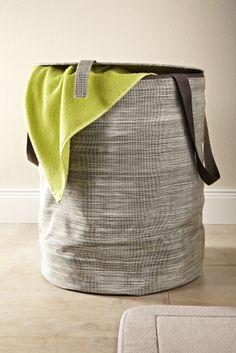 Sorgt für #Ordnung im #Badezimmer: Wäschekorb für €19,95 bei #Tchibo