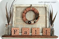 thanksgiving fall decorations - Google Search