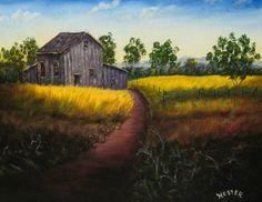 """Looking Back by Don Hester   $250   20""""w x 16""""h   Original Art   http://www.vangoart.co/buy/art/looking-back--2 @VangoArt"""