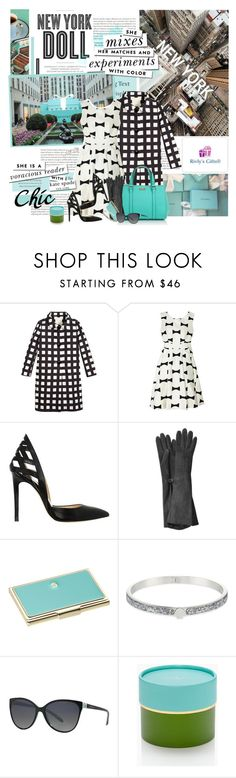 """New York Doll"" by violetta-valery ❤ liked on Polyvore featuring Tiffany & Co., Hemingway, Kate Spade, Vanity Fair, Alejandro Ingelmo and Alexander McQueen"
