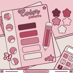 Flat Color Palette, Color Palette Challenge, Paint Color Palettes, Colour Pallette, Colour Schemes, Skin Palette, Palette Art, Pantone Color Chart, Color Mixing Chart