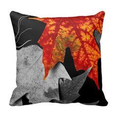Zazzle Fall Fit Pillow #zazzle #pillows #fall