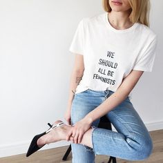 We should all be feminists! Dior