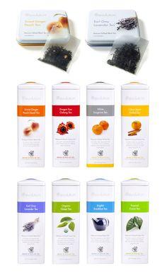 Revolution Tea package design PD