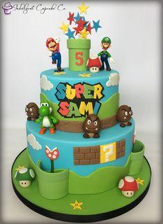 Super Mario cake......
