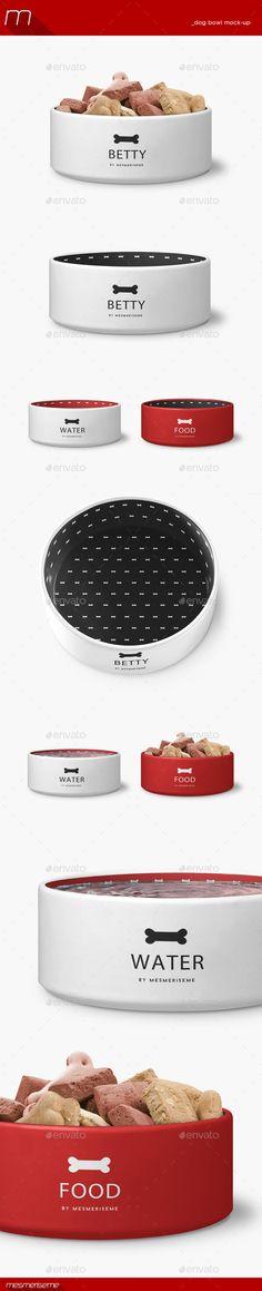 Dog Bowl Mock-up | Download: http://graphicriver.net/item/dog-bowl-mockup/11023421?ref=ksioks