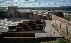 Adaptation of the Inner Ward of El Real de la Jara Castle-02 « Landscape Architecture Works   Landezine