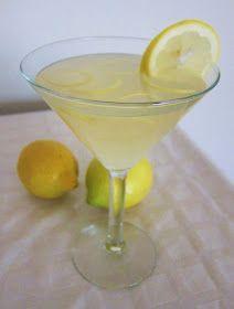 Fragrant Vanilla Cake: Vanilla Lemon Martini