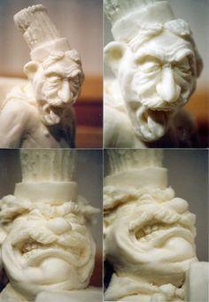 funny Lard art Sculptures, Ice, Snow, Statue, Funny, Sculpting, Ha Ha, Ice Cream, Sculpture