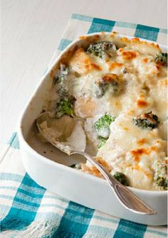 Chicken & Broccoli Rice Bake