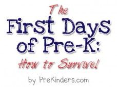 First few weeks of #PreK #Classroom #Ideas