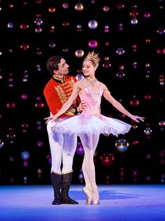 Sophie Martin as the Sugar Plum Fairy with Erik Cavallari as the Prince in Peter Darrell's The Nutcracker. Scottish Ballet, December 2014. © Andy Ross. Sophie Martin (Sugar Plum) and Eve Mutso (Snow Queen) are at the top of their game – stunning...