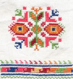 Embroidery from the village of Shiroki dol - Bulgaria