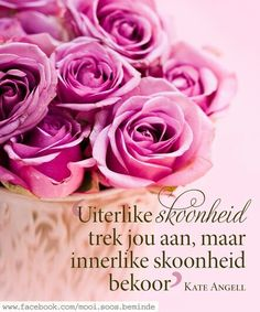 Uiterlike x Innerlike skoonheid __ⓠ Kate Angell Afrikaanse Quotes, Good Morning Inspirational Quotes, Encouraging Bible Verses, Printable Quotes, Woman Quotes, My Love, Notes, Wisdom, Printables