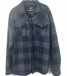 M O Seven Originals Black Glen Plaid Long Sleeve Button Down Shirt Sz 3XL | eBay