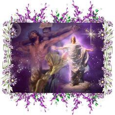 wallpaper image of the crucifixion and resurrection of Jesus Image Jesus, Jesus Christ Images, God Loves You, Jesus Loves, Living He Loved Me, Lucas 9, Jesus Resurrection, Jesus Pictures, Jesus Pics