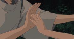 Screencap Gallery for Spirited Away Bluray, Studio Ghibli). Hayao Miyazaki, Anime Gifs, Anime Art, Aesthetic Gif, Aesthetic Wallpapers, Hand Fotografie, Pixel Gif, Anime Body, Chihiro Y Haku