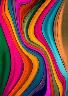 Danny Ivan's Bold Colorful Art