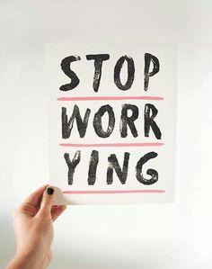 #worry