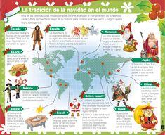 Conozca la tradición de la Navidad en el Mundo