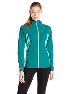 Salomon Womens Minim 25l Jacket Alpine Green Medium >>> Read more  at the image link.