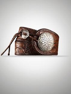 whipstitch concho belt #ralphlauren