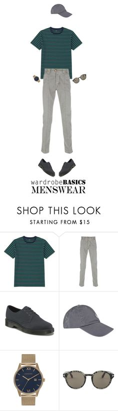 """""""13"""" by khairunnisarahma ❤ liked on Polyvore featuring Uniqlo, Barba, Dr. Martens, Polo Ralph Lauren, Tom Ford, mens, men, men's wear, mens wear and male"""