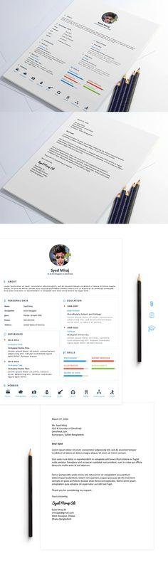 Resume Free Download on Behance => More at designresources.io