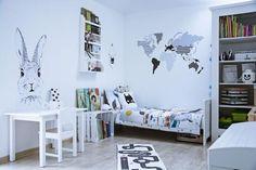 Pokój przedszkolaka w stylu skandynawskim