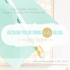 How To Achieve A Minimal Blog Design That Isn't Boring | Day 10 of the #DYOBblogtour! 14 Bloggers. 14 Days. 14 Ways to Beautify Your Blog!