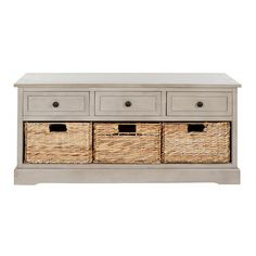 Country Storage Bench - perfect for under the window
