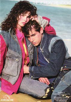 August 1985. 'The Jordache Look.'