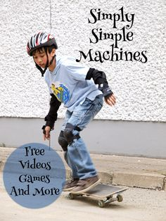 Get links to terrific resources for teaching simple machines here…including videos, games and more!