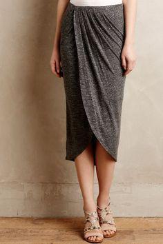 Maleo Draped Skirt - anthropologie.com #anthroregistry