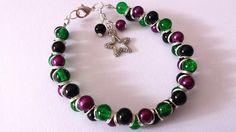 Stunning goddess style bracelet with star charm - The Supermums Craft Fair
