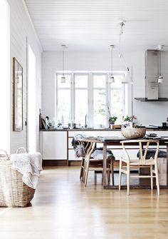 The beautiful home of a Swedish interior stylist | my scandinavian home | Bloglovin'