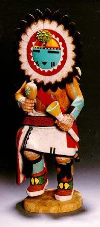 Hopi Kachina Dolls   Large Hopi Kachina doll, c.1950   Western art ...