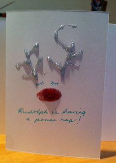 Some gorgous homemade christmas card ideas Family Christmas Cards, Homemade Christmas Cards, Christmas 2014, Xmas Cards, Winter Christmas, Christmas Ideas, Family Budget, Paper Goods, Diy Crafts